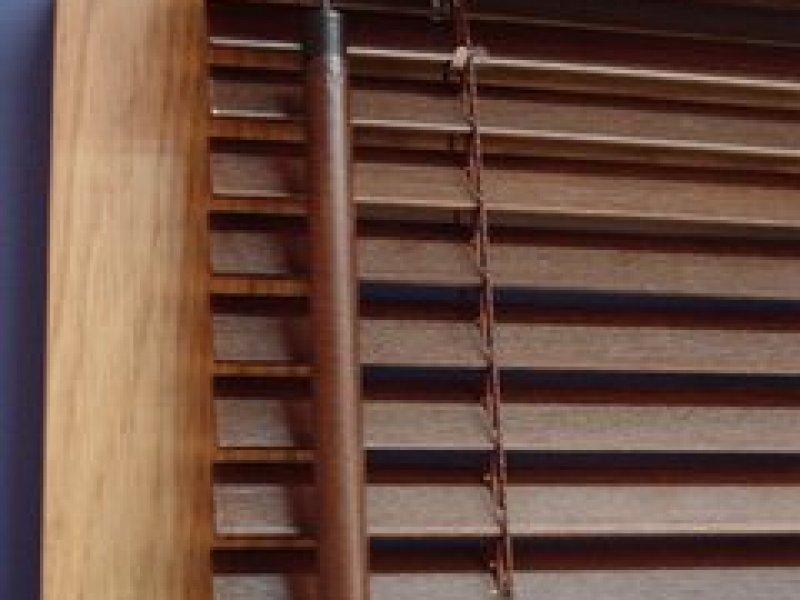 Żaluzje drewniane, poziome